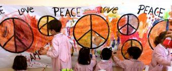 Celebrating Peace! Clases Verde, Amarilla, Violeta, Naranja, Celeste, Marrón y Granate